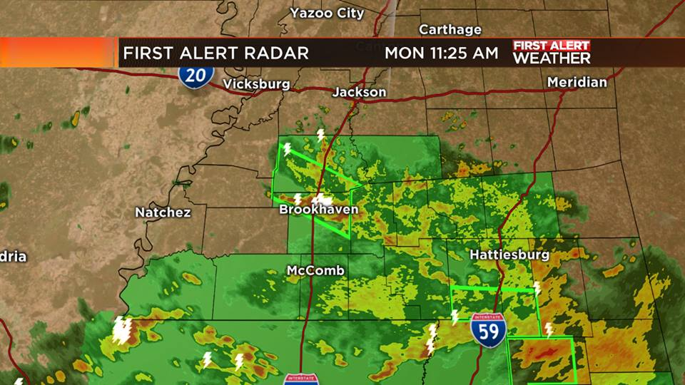 Heavy Rain: South Mississippi - MS News Now, First Alert