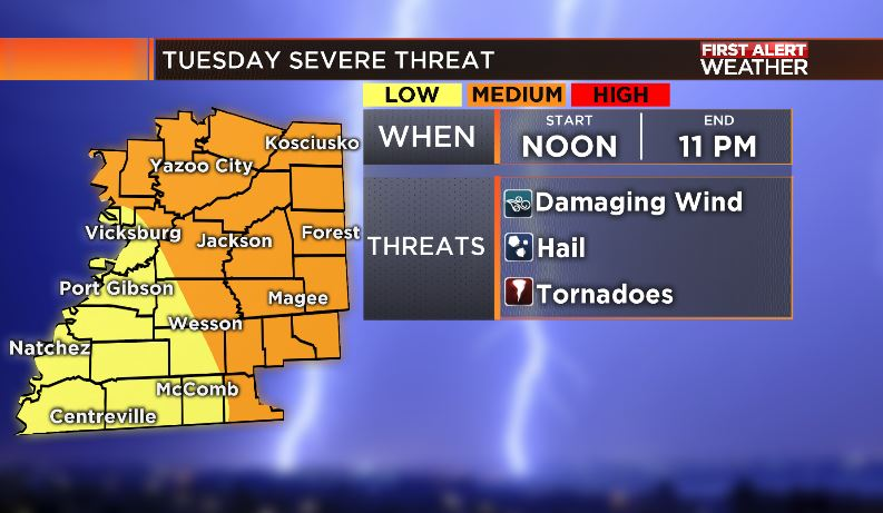 Severe Storms Tuesday - MS News Now, First Alert Weather Blog
